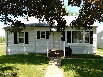 Cambridge MD Single Family Home For Sale: $89,000
