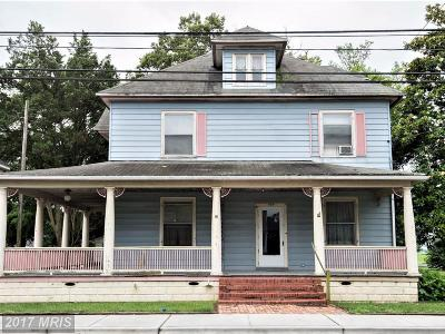 Hurlock Single Family Home For Sale: 404 Academy Street