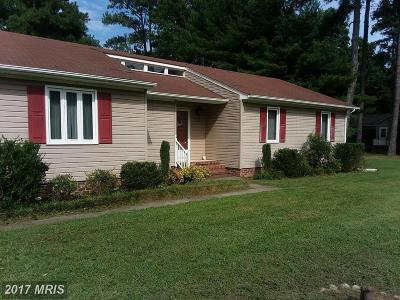Tappahannock VA Single Family Home For Sale: $169,900