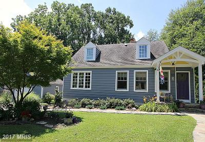 Falls Church Single Family Home For Sale: 809 Fulton Avenue