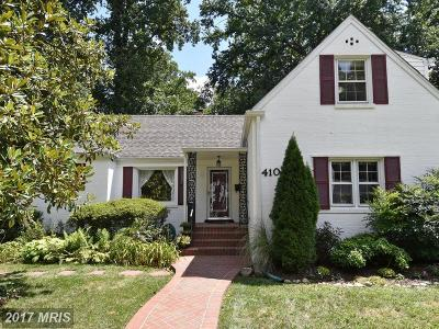 Falls Church Single Family Home For Sale: 410 Jackson Street