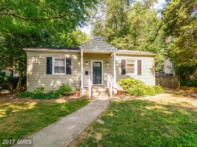 Falls Church Single Family Home For Sale: 107 Westmoreland Road