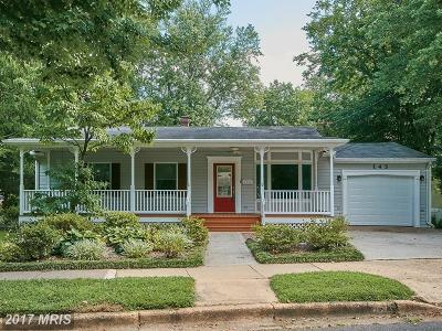 Falls Church Single Family Home For Sale: 145 Spring Street