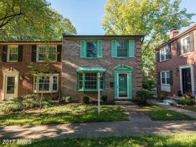 Falls Church Townhouse For Sale: 302 Gundry Drive