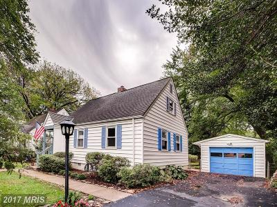 Falls Church Single Family Home For Sale: 403 Spring Street S