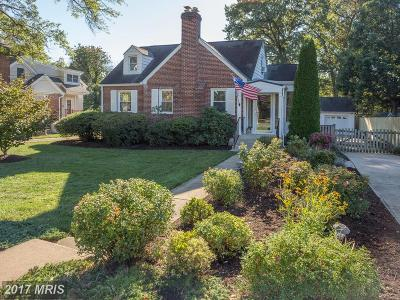 Falls Church Single Family Home For Sale: 209 West Street S