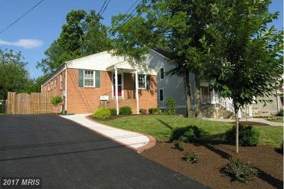Falls Church Rental For Rent: 520 Greenwich Street