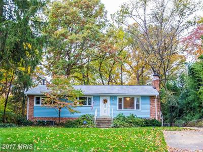 Falls Church Single Family Home For Sale: 1005 Fowler Street
