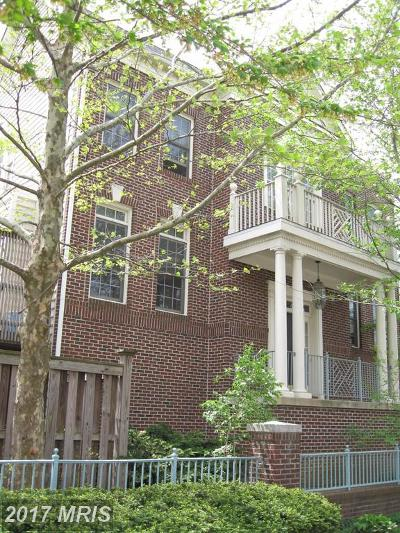 Falls Church Townhouse For Sale: 101 Rees Place