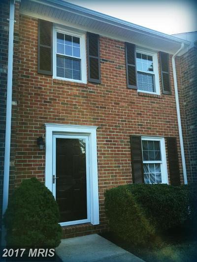 Fredericksburg Townhouse For Sale: 2426 Lafayette Boulevard