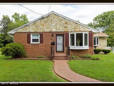 Fredericksburg Single Family Home For Sale: 3115 Normandy Avenue