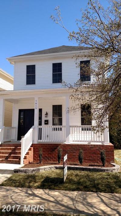 Fredericksburg City Single Family Home For Sale: 1305 Charles Street