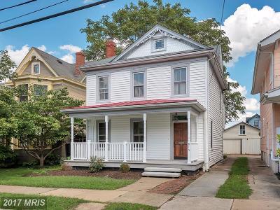 Fredericksburg Single Family Home For Sale: 815 Weedon Street