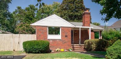 Fredericksburg Single Family Home For Sale: 1311 Dandridge Street