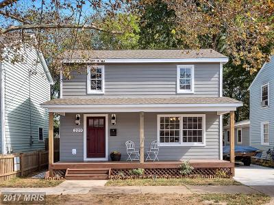 Fredericksburg Single Family Home For Sale: 209 Prince Edward Street