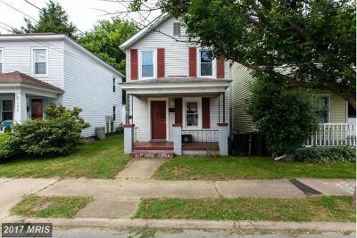 Fredericksburg Single Family Home For Sale: 610 Shepherd Street