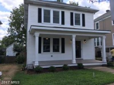 Fredericksburg Single Family Home For Sale: 814 Wolfe Street