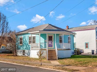 Fredericksburg Single Family Home For Sale: 1400 Charles Street