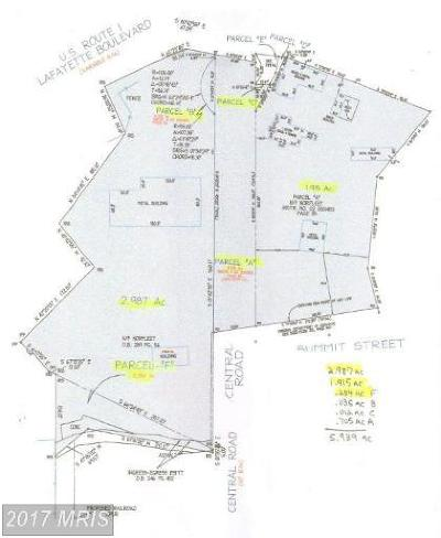 Fredericksburg VA Residential Lots & Land For Sale: $1,995,000