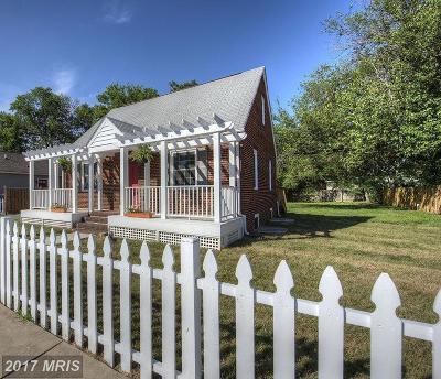 Fredericksburg Single Family Home For Sale: 123 Princess Anne Street