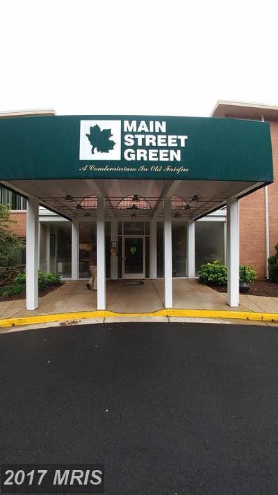 Fairfax Condo For Sale: 10570 Main Street #410