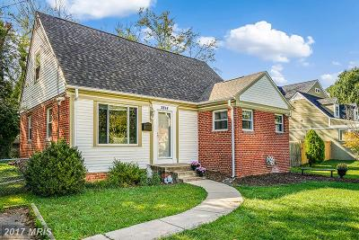 Fairfax Single Family Home For Sale: 3814 Jancie Road
