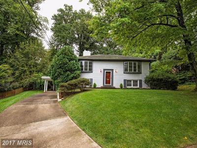 Fairfax Single Family Home For Sale: 10605 Springmann Drive