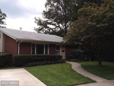 Fairfax Single Family Home For Sale: 10323 Forest Avenue