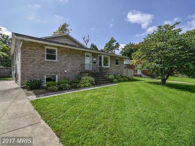 Fairfax Single Family Home For Sale: 10913 Warwick Avenue