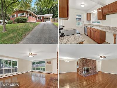 Fairfax Single Family Home For Sale: 10107 Cornwall Road