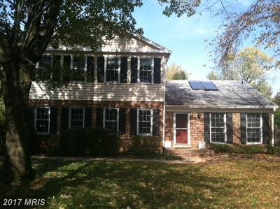 Fairfax Single Family Home For Sale: 10502 Providence Way