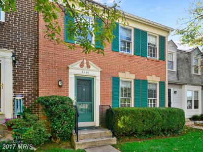 Fairfax Townhouse For Sale: 9766 Main Street