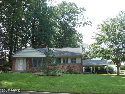 Fairfax Single Family Home For Sale: 10903 Byrd Drive