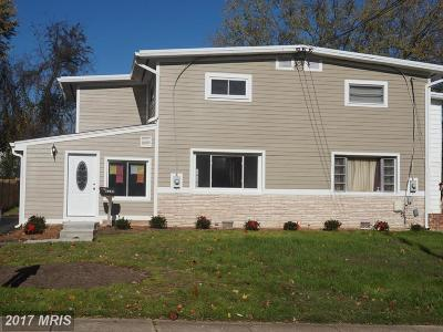 Fairfax Townhouse For Sale: 4240 Allison Circle