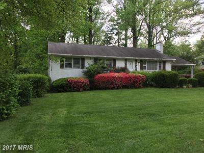 Fairfax Single Family Home For Sale: 10617 Norman Avenue