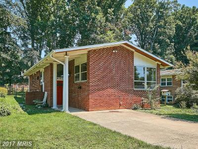 Fairfax Single Family Home For Sale: 4123 Roberts Road