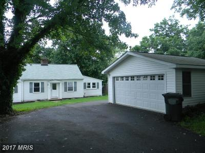 Warrenton Single Family Home For Sale: 109 Fisher Lane