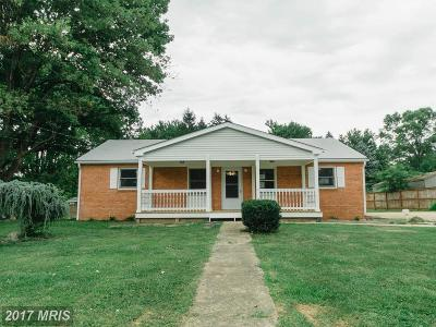Fauquier Single Family Home For Sale: 4073 Stanberry Avenue