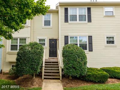 Warrenton Townhouse For Sale: 759 Cedar Crest Drive