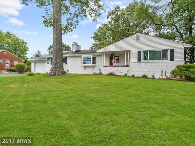 Warrenton Single Family Home For Sale: 5110 Dumfries Road