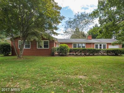 Warrenton Single Family Home For Sale: 7281 Mosby Drive