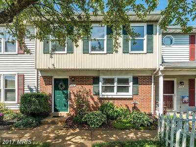 Fauquier Townhouse For Sale: 441 Denning Court