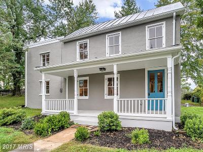 Warrenton Single Family Home For Sale: 204 High Street