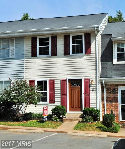 Fauquier Townhouse For Sale: 3 Kingsbridge Court