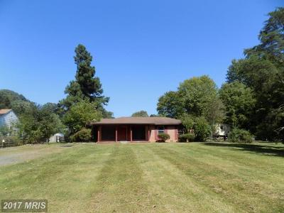 Warrenton Single Family Home For Sale: 5156 Dumfries Road