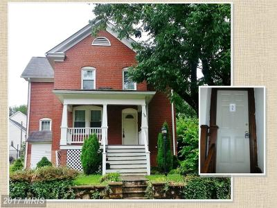 Warrenton Rental For Rent: 179 Sycamore Street #2