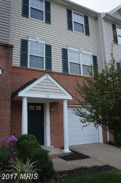 Fauquier Townhouse For Sale: 59 Sire Way