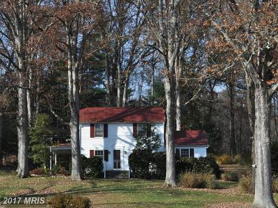 Rappahannock, Fauquier, Madison, Culpeper Single Family Home For Sale: 8728 Wales Road