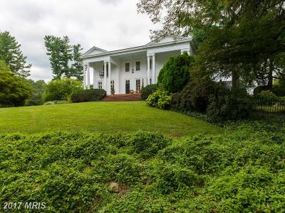 Rappahannock, Fauquier, Madison, Culpeper Single Family Home For Sale: 402 Culpeper Street