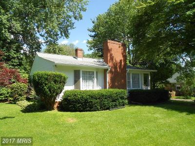 Warrenton Single Family Home For Sale: 185 Garden Street